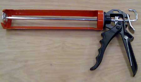 Professional 400cc skeleton gun for Boron Paste